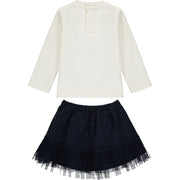Baby Girl Top and Tutu Skirt 2 Pieces Set