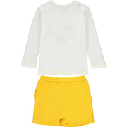 Baby Girls Fox Top and Skort Set