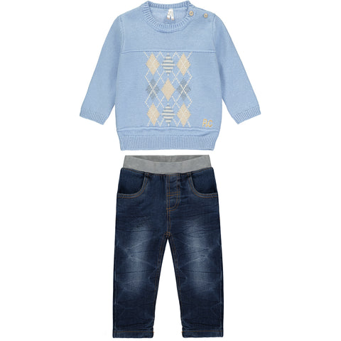 Baby Boys Blue Denim Jeans
