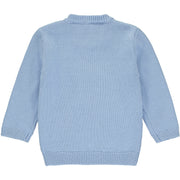 Baby Boys Light Blue Knitted Jumper