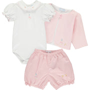 Baby Girls Jemima Puddle Duck Pink Shorts