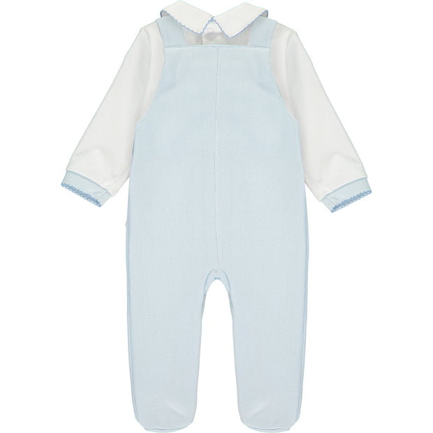 Peter Rabbit Knitted Dungaree Set & Bodysuit