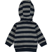 Baby Boy Navy Blue Cotton Cardigan