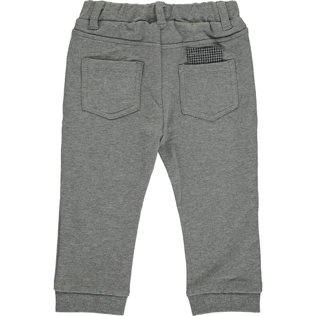 Baby Boy Grey Cotton Trousers