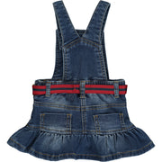 Baby Girl Denim Pinafore Dress