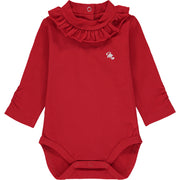 Baby Girl Red Bodysuit