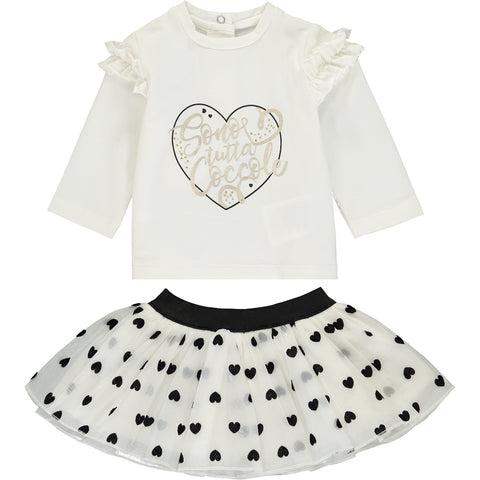 Baby Girl Top and Tutu Outfit Set