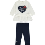 Baby Girl Top and Leggings Outfit Set