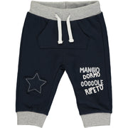 Baby Boy Navy Blue Joggers