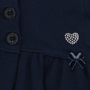 Baby Girl Navy Blue Cardigan