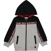 Boy Cotton Zip-Up Hoodie