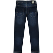 Boys Blue Cotton Jeans