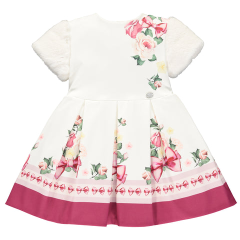 Girls Floral White Dress
