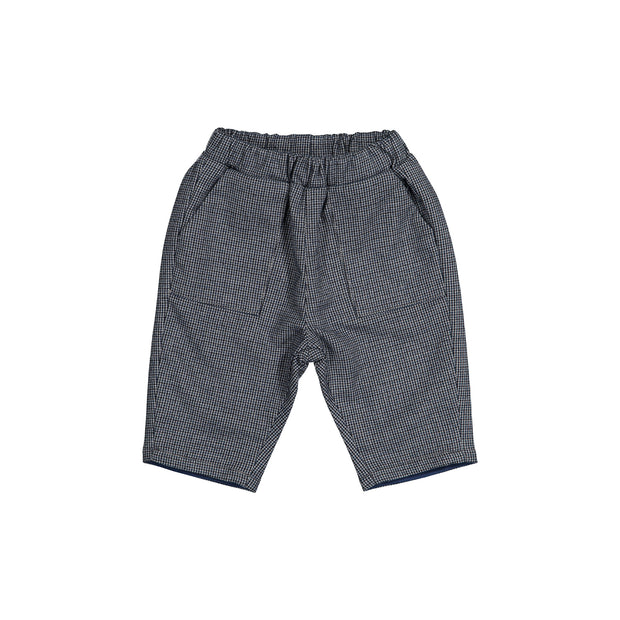 Baby Boys Grey Viscose Trousers