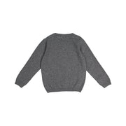 Boys Grey Knitted Wool Jumper