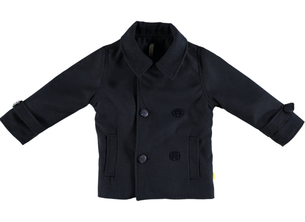 Boys Navy Blue Coat