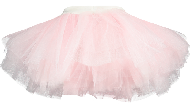 Girl Top and Tutu Skort 2 Pieces Set