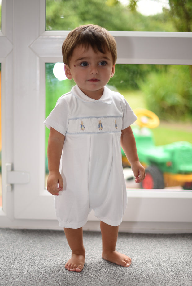 Peter Rabbit Short Sleeve Romper