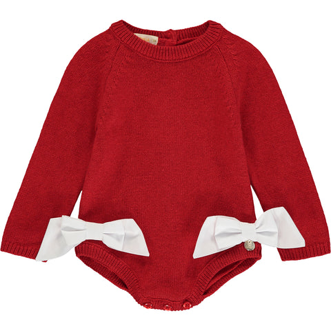 Baby Girl Knitted Bodysuit