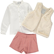 Girls Smart Cotton Shorts