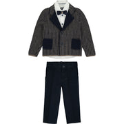 Boys Occasion Smart Suit 4 Piece Set