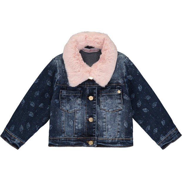 Baby Girl Blue Denim Jacket