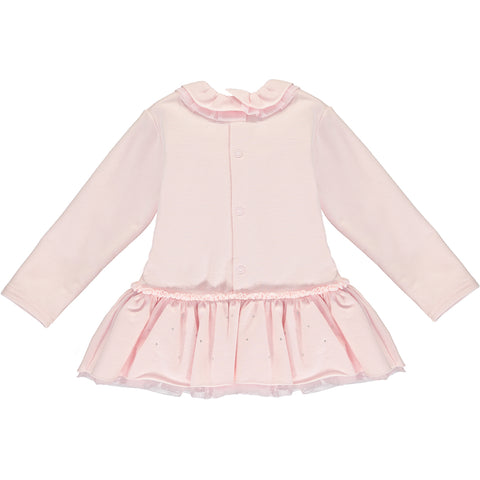 Baby Girl Cotton Pink Dress
