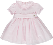 Baby Girl Pink Cotton Dress