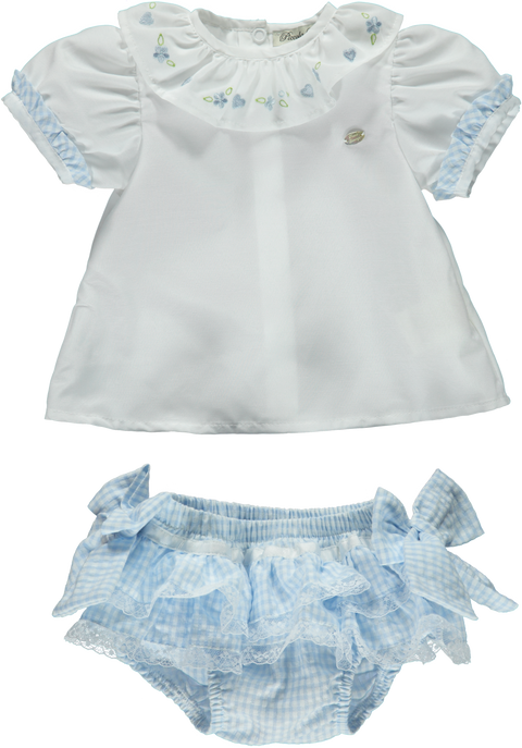 Baby Girl Shorts Set