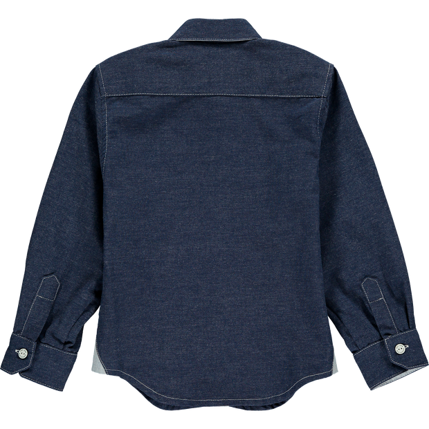 Blue Denim Boys Shirt