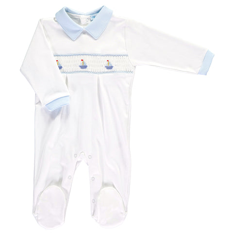 Three Sail Boats Babygrow