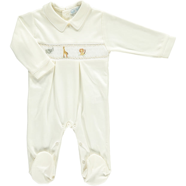 Safari Smocked Babygrow