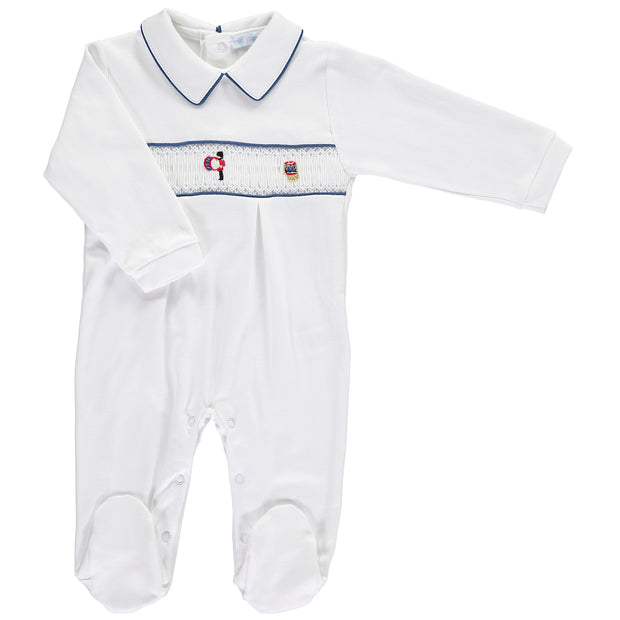 Guards Drummer Smocked Babygrow