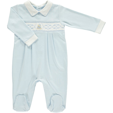 Boys Teddy Bear Babygrow