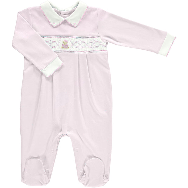 Girls Teddy Bear Babygrow
