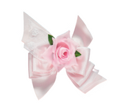 Baby Pink Hair Clip Bow Shape