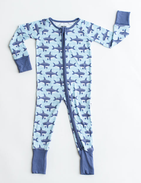 Baby Sharks Sleepsuit