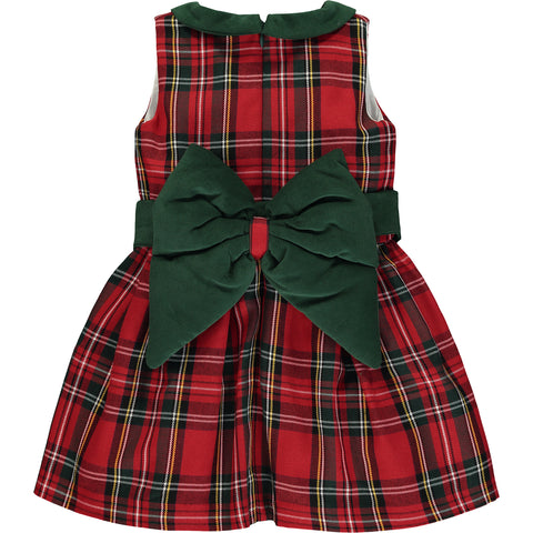 Girl Tartan Check Dress