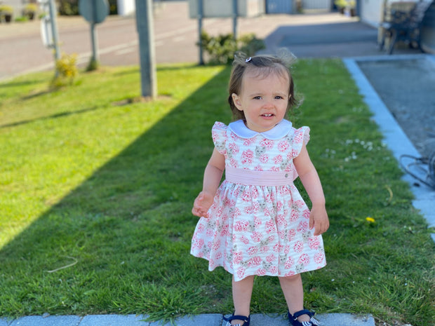 Baby Girl Cat Print Dress