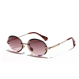 Enticing Rimless Sunglasses