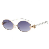 Cute Vintage Oval Sunglasses