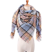 Warm Plaid Scarves