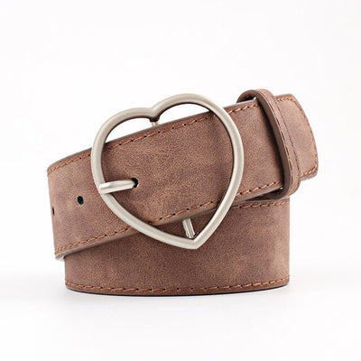 Heart Buckle Belt