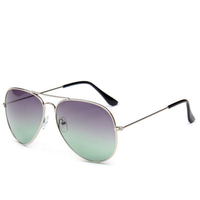 Gradient Metal  Sunglasses
