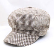 Plaid Military Hat