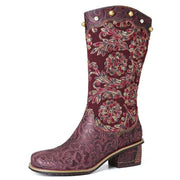 Exquisite Embroidery Boots