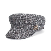 Tweed Military Hat
