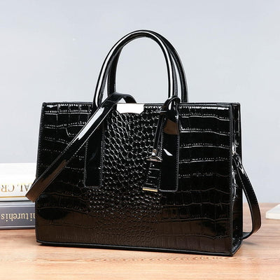 Luxury  Crocodile Satchel