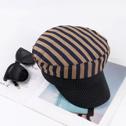 Cotton Stripe Beret
