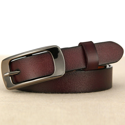 Thin Section Jeans Belt